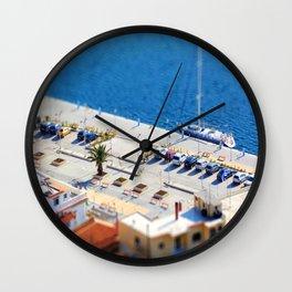 Port Car Park  Wall Clock