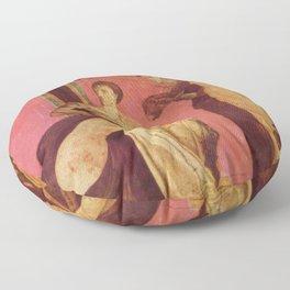 Villa Of Mysteries Pompeii Floor Pillow