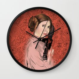 Princess Leia from StarWars Wall Clock