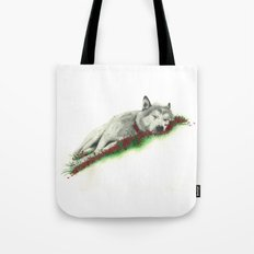 Wolf. Tote Bag