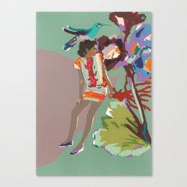 Maria de las Flores Canvas Print