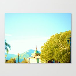 Next to the GLASS Canvas Print