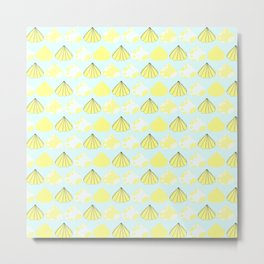 Summer time - Fabric pattern Metal Print