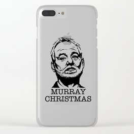 Murray Christmas Clear iPhone Case