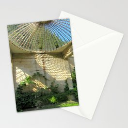 Nature Reclaiming Old Structure Stationery Cards