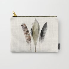 nature feathers Carry-All Pouch