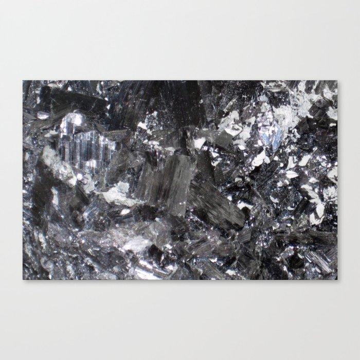 SHINY ENARGITE CRYSTAL MACRO Canvas Print