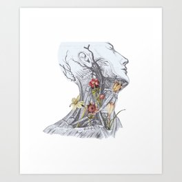 Bot Neck Art Print