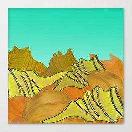 Australica Beach Shells Canvas Print