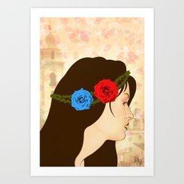 Gabriela  Art Print