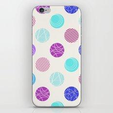 Calm Spots iPhone & iPod Skin