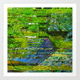 Landscape of My Heart (segment 4) Art Print