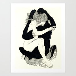 AURYN (The Neverending Story Series) Art Print