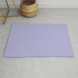 From The Crayon Box - Blue Bell Pastel Purple Solid Color Rug