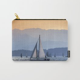Sails Sea Mountains Carry-All Pouch