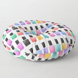 Nail Polish Floor Pillow
