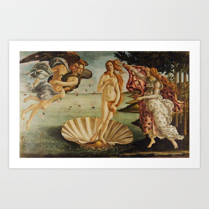 The Birth of Venus by Sandro Botticelli Kunstdrucke