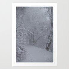 Winterwonderland Germany Art Print
