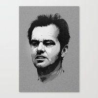 jack Canvas Prints featuring Jack by Joey Zero
