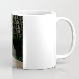Sun Between Buildings Coffee Mug