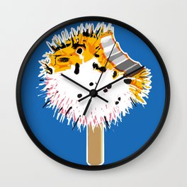 Fish Fugu Ice Cream Wall Clock