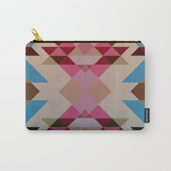 Abstract geometric I Carry-All Pouch