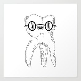 wisdom tooth Art Print