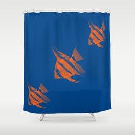 Fishs 2 Shower Curtain