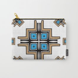 aztec cross mandala Carry-All Pouch