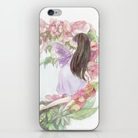 fairies iPhone & iPod Skins featuring fairies by acca