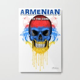 To The Core Collection: Armenia Metal Print