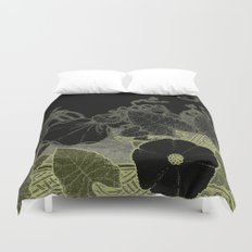 Art nouveau background Duvet Cover