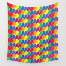 Pride Heart Scale Pattern Wall Tapestry