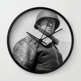General George S. Patton Wall Clock