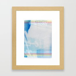 Our Evil is Good, Our Evil is Strong Framed Art Print