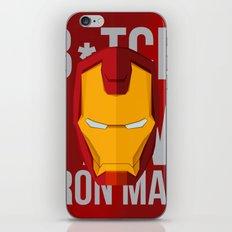 B*tch i'm ironman iPhone & iPod Skin