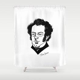 Franz Schubert Shower Curtain