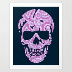 HennaSkull Art Print