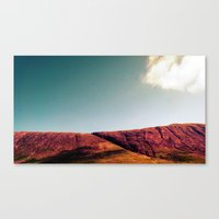 the fault Canvas Prints featuring fault. by zenitt