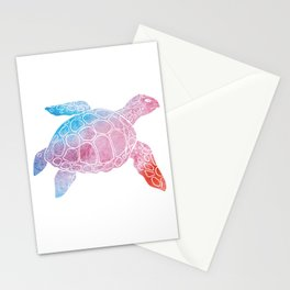 Watercolor Sea Tu Stationery Cards