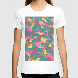 Jewel Tone Abstract T-shirt