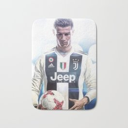 Cristiano Ronaldo To Juventus Bath Mat