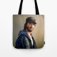 donnie darko Tote Bags featuring Donnie by tillieke