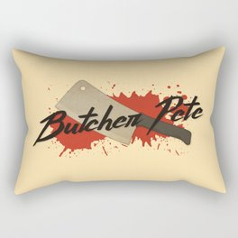 Butcher Pete Rectangular Pillow