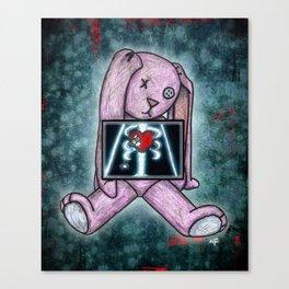 Xanadu the Skele-Bunny Canvas Print