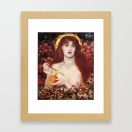 VENUS VERTICORDIA - ROSSETTI Framed Art Print