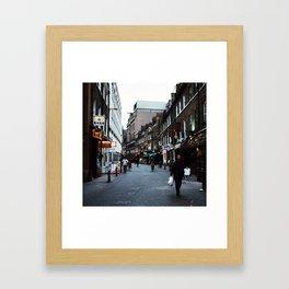 Dream Streets Framed Art Print