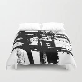 Brush Stroke Art Duvet Cover