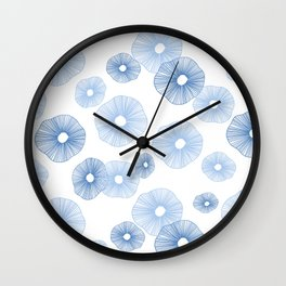 Sand dollars sea shells Wall Clock