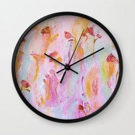 Flowers1 Wall Clock